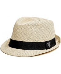 GUESS GUESS Woven Triangle Fedora - natural