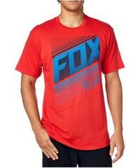 Pánské tričko Fox Static ss tee Red S