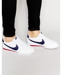 Nike - Cortez 749571-146 - Leder-Sneakers - Weiß