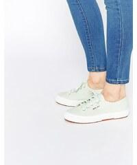 Superga - 2750 - Klassische Plimsoll-Sneakers in Minzgrün - Grün