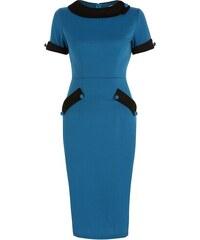 Šaty Lindy Bop Tiffany Teal