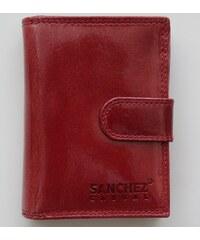 SANCHEZ CASUAL Peněženka SANCHEZ červená (bordó)