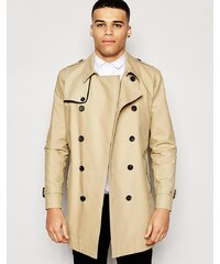 ASOS - Trench imperméable coupe croisée - Taupe - Taupe