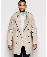 ASOS - Trench imperméable - Taupe - Taupe