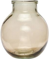Hübsch Skleněná váza Lenni