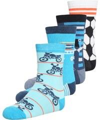 Melton 4 PACK Socken blue