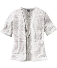 ARIZONA Shirtjacke mit trendigem Ausbrenner Effekt für Mädchen