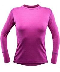 Devold Sport dámské triko s dlouhým rukávem růžová L