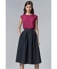Nife Tmavě modrá sukně SP27