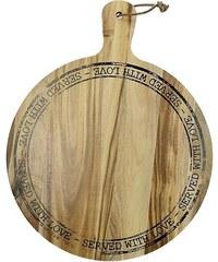 KERSTEN - Dřevěné prkýnko, akát, přírodní 38x30x1.8cm (WER-0520)