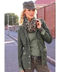 Dámské bundy a kabáty s flitry  fdd3413351