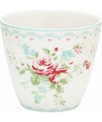 Green Gate Latte cup Abelone white