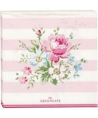 Green Gate Papírové ubrousky Marie pale pink - malé