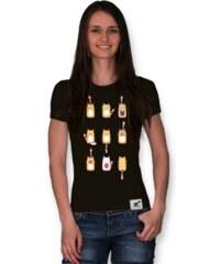 PANDEMIC Dámské tričko s potiskem Kočka: Meow