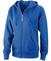 Kvalitní dámská mikina - Královská modrá S