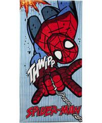 Disney Brand Chlapecká plážová osuška Spiderman - modrá