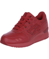 Asics Gel Lyte Iii Monochrome Schuhe red/red