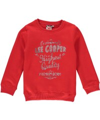 Lee Cooper Authentic Crew Neck Sweater dětské Boys Red