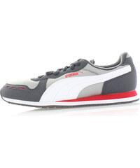 Dámské šedé tenisky Puma Cabana Racer Mesh