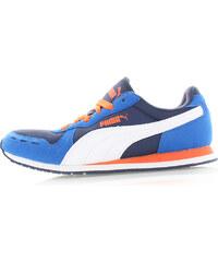 Dámské modré tenisky Puma Cabana Racer Mesh