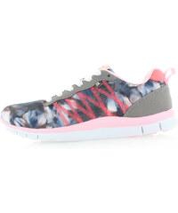 Šedo-růžové tenisky Bassed 41097