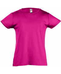 Dívčí tričko Cherry - Fuchsiová 2 Y