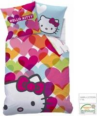 Hello Kitty Bettwäsche pink in Größe UNI für Mädchen aus 100 % Baumwolle 100% Baumwolle