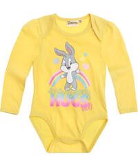 Looney Tunes Body gelb in Größe 3M für Mädchen aus 100% Baumwolle