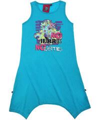 Monster High Kleid blau in Größe 128 für Mädchen aus 100% Baumwolle