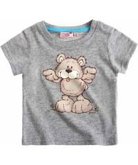 Nici T-Shirt grau in Größe 3M für Jungen aus 90 % Baumwolle 10 % Viskose