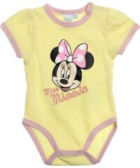 Disney Minnie Body gelb in Größe 3M für Mädchen aus 100% Baumwolle