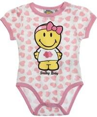 Smiley Body pink in Größe 3M für Mädchen aus 100% Baumwolle