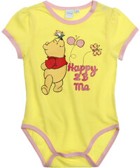 Disney Winnie Puuh Body gelb in Größe 3M für Mädchen aus 100% Baumwolle