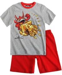 Skylanders Shorty-Pyjama rot in Größe 116 für Jungen aus Oberteil: 90% Baumwolle 10% Viskose Hose: 100% Baumwolle