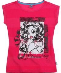 Monster High T-Shirt pink in Größe 128 für Mädchen aus 100% Baumwolle