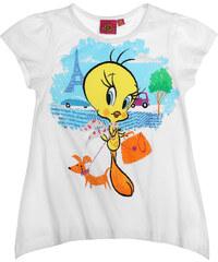Looney Tunes T-Shirt weiß in Größe 104 für Mädchen aus 100% Baumwolle
