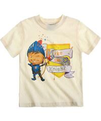 Mike der Ritter T-Shirt weiß in Größe 92 für Jungen aus 100% Baumwolle
