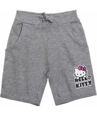 Hello Kitty Shorts grau in Größe 104 für Mädchen aus 90 % Baumwolle 10 % Viskose