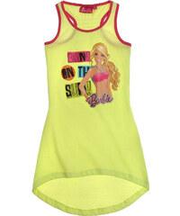 Barbie Kleid gelb in Größe 92 für Mädchen aus 100% Baumwolle