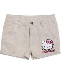 Hello Kitty Shorts creme in Größe 104 für Mädchen aus 98% Baumwolle 2% Elastan