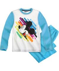 Disney Mickey Pyjama türkis in Größe 98 für Jungen aus 100% Baumwolle