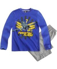 Disney Planes Pyjama grau in Größe 98 für Jungen aus Oberteil: 100 % Baumwolle Hose: 90 % Baumwolle 10 % Viskose