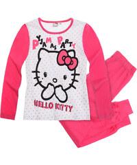 Hello Kitty Pyjama pink in Größe 128 für Mädchen aus 100% Baumwolle