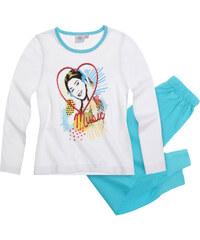 Disney Violetta Pyjama blau in Größe 116 für Mädchen aus 100% Baumwolle