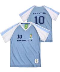 FIFA Fussball Weltmeisterschaft Brasilien 2014 (TM) T-Shirt, Argentina 92-128 blau in Größe 98 für Jungen aus 100% Polyester
