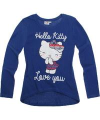 Hello Kitty Langarmshirt blau in Größe 104 für Mädchen aus 100% Baumwolle