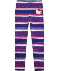 Hello Kitty Leggings blau in Größe 104 für Mädchen aus 95 % Baumwolle 5 % Elastan