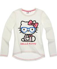 Hello Kitty Langarmshirt creme in Größe 128 für Mädchen aus 100% Baumwolle