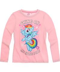 My Little Pony Langarmshirt rosa in Größe 92 für Mädchen aus 100% Baumwolle