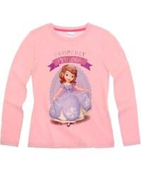 Disney Sofia die Erste Langarmshirt rosa in Größe 92 für Mädchen aus 100% Baumwolle